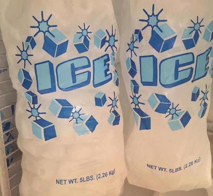 Ice in Cherokee, Iowa